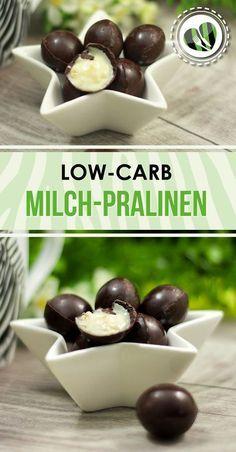 Die low-carb Milchpralinen sind ein perfektes Geschenk. Aber auch zum selber naschen sind sie geeignet. Das Rezept findet ihr auf www.schwarzgrueneszebra.de