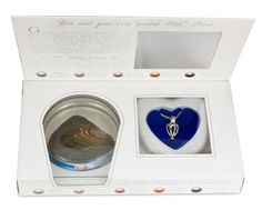 Harvest Your Own Pearl From An Unopened Oyster Shell! Wear It Encased In A Silver-Plated Locket
