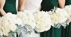 """Every wedding has its """"thing."""" You know – that one special detail that sort of steals the show. And for this William Aiken Housebeauty, it came in the form of an emerald green color palette. It's the force that drives the design of this Southern love affair, and you can see every stunning bloom byOoh! […]"""