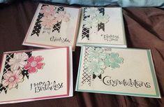 Flower Shop Card Sets by whitetigers - Cards and Paper Crafts at Splitcoaststampers