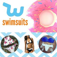 Counting down the days until #summer? We've got just what you need for those sun-filled #beach days!You can get this #swimwear #donut floaty and more featured in our latest YouTube video on the Wish Shopping channel.#WishApp #bikini #internationaldonutweek
