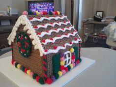 Crochet Gingerbread House - Video Tutorial