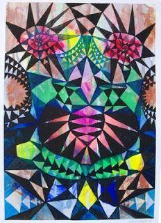 shine brite zamorano: 2nd grade art lesson