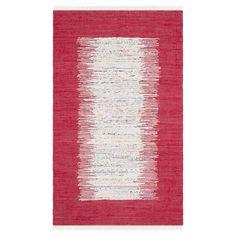 Teppich Saltillo - Rot / Weiß - 152 x 243 cm, Safavieh Jetzt bestellen unter: https://moebel.ladendirekt.de/heimtextilien/teppiche/sonstige-teppiche/?uid=ff94912d-ed60-5897-835d-539f80497e3e&utm_source=pinterest&utm_medium=pin&utm_campaign=boards #accessoires #kurzflorteppiche #heimtextilien #sonstigeteppiche #teppiche #safavieh