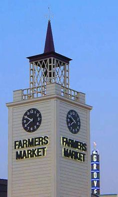 Top Things to Do in Los Angeles: Farmers Market and The Grove