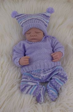 Free Knitting Pattern- Minstemann by Randi K Design on Ravelry Baby Knitting Patterns, Baby Patterns, Free Knitting, Doll Patterns, Baby Leggings, Boys Homecoming Outfits, Knitted Coat, Sweater Set, Baby Outfits