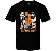 Floyd Mayweather Vs Manny Pacquiao Boxing Fight Fan T Shirt