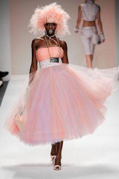 Models on the Betsey Johnson S/S '14 runway rocked crazy pink pastel do's at this fall's #NYFW! Get a similar shade with MANIC PANIC Cotton Candy Pink and our Mixer/Pastel-izer.