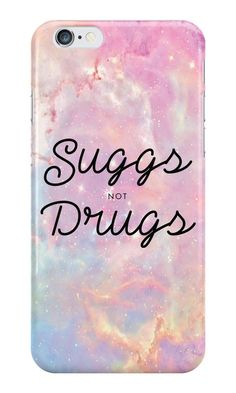 Our Suggs not Drugs -YouTuber Phone Case is available online now for just £5.99.    Fan of British YouTuber siblings, Zoe & Joe? You'll love our Suggs not Drugs phone case!    Material: Plastic, Production Method: Printed, Authenticity: Unofficial, Weight: 28g, Thickness: 12mm, Colour Sides: Clear, Compatible With: iPhone 4/4s | iPhone 5/5s/SE | iPhone 5c | iPhone 6/6s | iPhone 7 | iPod 4th/5th Generation | Galaxy S4 | Galaxy S5 | Galaxy S6 | Galaxy S6 Edge | Galaxy S7 | Galaxy S7 Edge | Gal