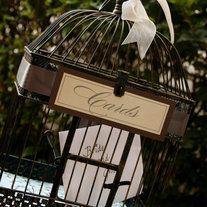 """Bird Cages Wedding Card Holder 17"""" #wedding"""