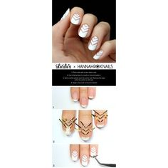 Mani Monday Rose Gold and Pink Valentine's Day Nail Tutorial ❤ liked on Polyvore featuring beauty products and nail care