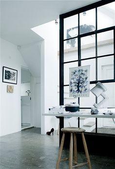 window wall homedecor-indretning-glasvaeg-chame-interior-glas-glasparti-rude-vinduer-walkincloset-atelier