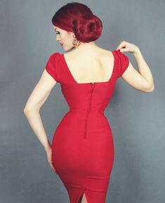 Stop Staring Billion Dollar Baby Dress in Red ⋆ Stop Staring Europe Dresses For Big Bust, Stop Staring Dresses, Best Stretches, Vintage Style Dresses, Baby Dress, Fashion Dresses, Vintage Fashion, Bodycon Dress, Europe