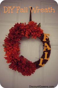 DIY Fall Wreath!!!!