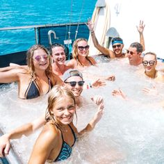 Spend your days exploring the hottest areas of the Whitsundays on one of the liveliest boats around! The biggest boat in the Whitsundays with up to 54 guests for a fun, social experience. Boasts a huge waterslide, scuba diving, air-cond and an action-packed itinerary Sailing Whitsundays, The Whitsundays, Hamilton Island, Airlie Beach, Snorkelling, Great Barrier Reef, Water Slides, Paddle Boarding, Scuba Diving