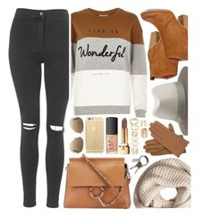 """""""What I'd Wear"""" by monmondefou ❤ liked on Polyvore featuring River Island, Topshop, rag & bone, Chloé, Madden Girl, H&M, Forever 21, Isotoner, CB2 and Ray-Ban"""