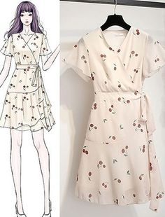 Best Ways To Style Your Outfits - Fashion Trends Korean Girl Fashion, Korea Fashion, Cute Fashion, Look Fashion, Fashion Outfits, Fashion Drawing Dresses, Fashion Illustration Dresses, Girly Outfits, Stylish Outfits