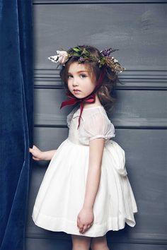 Nellystella Marissa Dress // PoppysCloset.com #flower #girl #dress