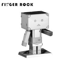 Finger Rock Danboard 3D Metal Puzzle Assembly DIY Jigsaw Model Building Kits Cute Educational Toy Gift
