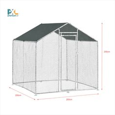 Voliéra pre vtáky ABCC-4501 kovový výbeh pre zvieratá 2 x 2 x 2 m s krycou plachtou. Táto voliéra - výbeh pre zvieratá je skvelým riešením pri chove menších domácich zvierat a hydiny, napr. sliepok, kurčiat, husí alebo kačiek. Kovová voliéra ich ochráni pred priamym slnečným žiarením, dažďom a dravcami. Divider, Room, Furniture, Home Decor, Bedroom, Decoration Home, Room Decor, Rooms, Home Furnishings