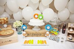 Southern-Style Birthday Party Dessert Table | projectnursery.com