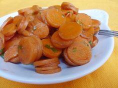 fast carrots with parsley and balsamic vinegar - carote facili e veloci al microonde con prezzemolo e aceto balsamico