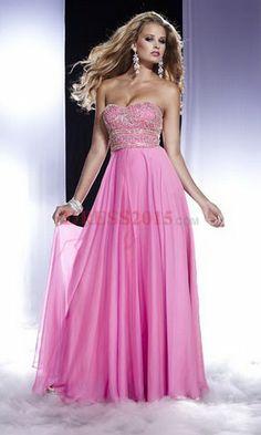 pink prom dress