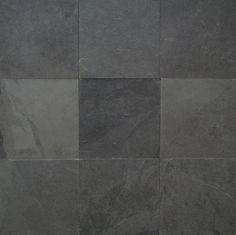 Kevin won - he got this black slate flooring in our new master bath renovation.