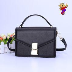 2017 custom fashion lady small genuine leather crossbody bag