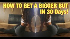How to get a big butt fast! Effective tips that work Gym Workout Tips, Workout Challenge, Butt Workouts, Workout Plans, Workout Routines, Before School Workout, Workout For Wider Hips, Big Muscle Training, Curvy Hips