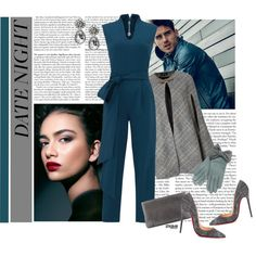 Date Night: Jumpsuit Style by marion-fashionista-diva-miller on Polyvore…
