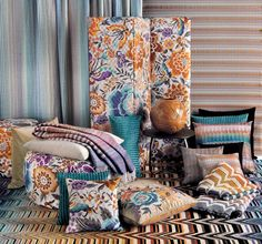 Oriental Flowers and Iconic symbols for oriental garden collection @missonihome