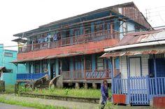 Typical house in Puerto Limon - Puerto Limon, Limon