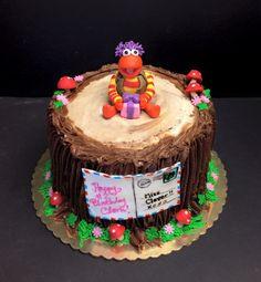 Fraggle Rock cake with Gobo