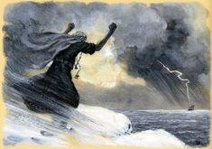 nicolai kochergin_kalevala_19_the mistress of pohjola chases the vainamoinens boat_01.jpg (1600×1123)