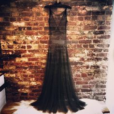 "Wendy Nichol sheer black gown - Beyonce wore this for her ""Drunk In Love"" music video off her visual album, ""Beyonce"""