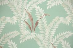Hey, I found this really awesome Etsy listing at https://www.etsy.com/ca/listing/192944112/1930s-vintage-wallpaper-by-the-yard