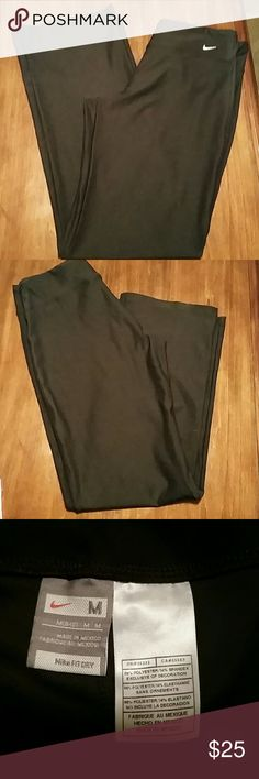 Nike dri fit athletic pants Nike black dry fit athletic pants.  In excellent condition Nike Pants