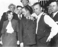 """John Dillinger On March 3, 1934, Crown Point etched its name forever in the history books as the infamous bank robber and FBI """"Public Enemy #1"""" John Dillinger escaped from the """"escape-proof"""" (as it was dubbed by local authorities at the time) Lake County Jail which was guarded by many police and national guardsmen. Dillinger apparently escaped using a hand-carved wooden gun blackened with shoe polish, although this was disputed by some witnesses."""