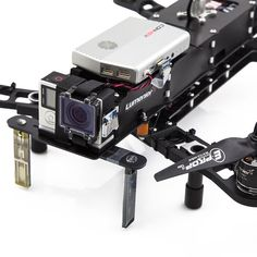 Mounted on a Lumenier QAV400, using live HDMI out from the GoPro Camera.