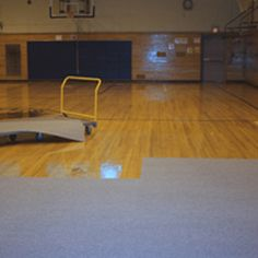 Gym Floor Covering Carpet Tile is an outstanding flooring solution for multipurpose rooms and ideal for competitive play.  www.greatmats.com