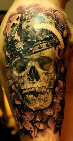 crowned skull byJohn Maxx.