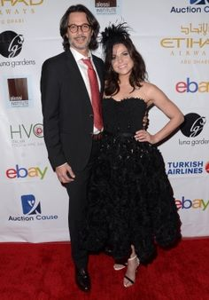 Lana Parrilla & Fred Di Blasio at the 6th Annual Face Forward Gala - Arrivals