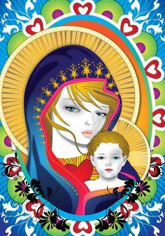 Virgin Mary 5 by lajuls on DeviantArt Virgin Mary, Female Art, Holi, Artsy, Princess Zelda, Deviantart, Illustration, Fictional Characters, Sayings