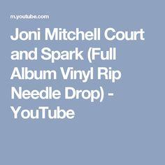 Joni Mitchell   Court and Spark (Full Album Vinyl Rip Needle Drop) - YouTube