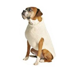 Chilly Dog Tural Cable Dog Sweater, Medium - http://www.thepuppy.org/chilly-dog-tural-cable-dog-sweater-medium/