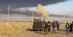 Fuerzas especiales iraquíes entran en el centro de Fallujah