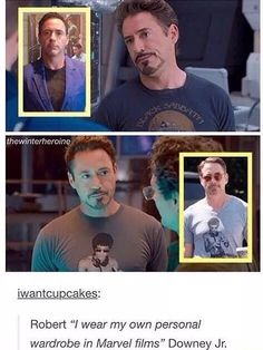 More proof that RDJ is Tony Stark
