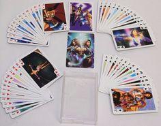Final Fantasy X2 Playing Cards Complete Deck Kimahri Ronso Rikku Auron Yuna Lulu