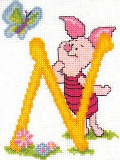 "X-stitch ""N"""